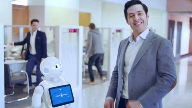 Teknolojinin sıcak yüzü Pepper İş Bankası'nda! Tanışmaya hazır mısınız? #iştepepper