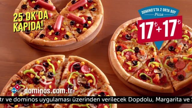 Domino's Pizza Türkiye Sıcak Takip